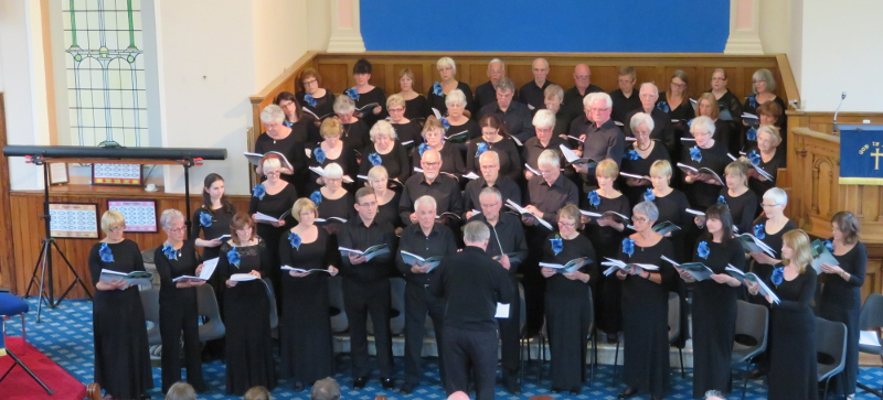 Saddleworth Musical Society Choir Spring 2017
