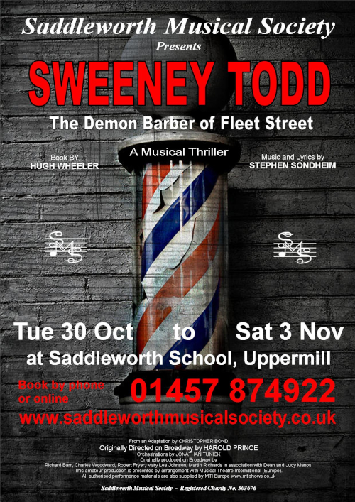Sweeney Todd - The Demon Barber of Fleet Street - Saddleworth Musical Society